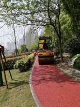 天津各色透水沥青路面铺装路面工程图片