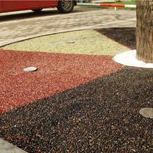 胶粘石地坪生产厂优游注册平台胶粘石胶水图片