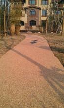 安徽园林景观工程透水混凝土道路装铺材料图片
