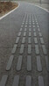 贵州黔西南透水混凝土一体化盲道盲道路面施工流程