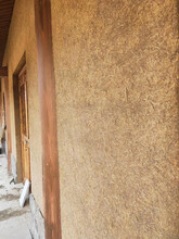 山東威海稻草泥墻面稻草泥墻面裝飾價格圖片