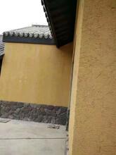 云南臨滄夯土墻設計施工供應夯土墻夯土景觀墻夯土墻施工工藝圖片