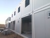準格爾旗生產抗風巖棉彩鋼房搭建內走廊活動房廠家