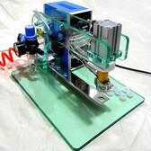 颗粒包装专用必威电竞在线小型平模颗粒热热压机HZJP1