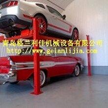 立体车库停车设备家用简易立体停车设备四柱停车设备厂家直销图片