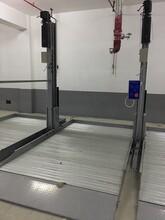 简易两柱家用停车设备双层立体车库智能2层机械式升降机械车位图片