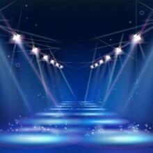 汉中晚会舞台灯光安装图片