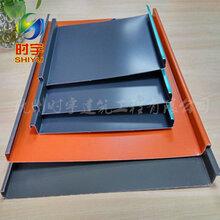 杭州厂家直销�|25-430立边咬合铝镁锰屋面板0.8mm图片