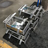 5家用豬耳朵豬頭肉成型壓肉器三文治培根方磚壓肉盒底部排油模具盒