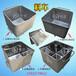 200L標準不銹鋼圓角肉料桶車供應食品加工專用肉料車