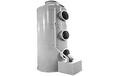 PP噴淋塔廢氣處理設備廢氣塔生物除臭凈化塔環保設備