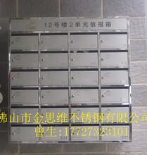 公共場所不銹鋼信報箱批發,戶外不銹鋼智能信報箱廠家圖片