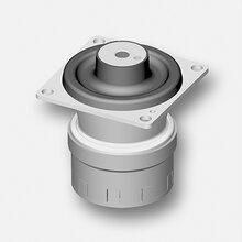 工業車輛駕駛室減震懸置橡膠硅油減震器圖片