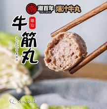 供应网红食品潮汕爆汁牛肉丸图片