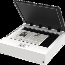 馈纸式平板扫描仪工作原理图片