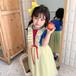 童裝OEM定制童裝小批量加工生產女童艾莎公主裙定制