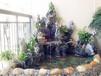 东莞庭院鱼池假山设计制作