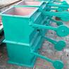 双层重锤翻版卸灰阀的工作原理