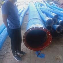 益茂橡塑泵連接輸水膠管生產者大口徑輸水膠管耐磨排水膠管圖片