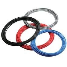 钢丝缠绕尼龙树脂管钢丝增强高压胶管压树脂软管图片