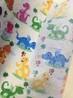泉州厂家零售批发彩色卡通恐龙儿童水刺无纺布印花彩图无纺布