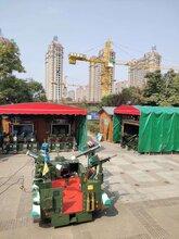 湖南醴陵大排档遮阳棚免费安装图片