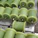 矿山巷道专用聚氨酯地辊工业滚保护钢丝绳不磨损耐用质保一年