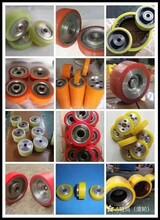 耐磨聚氨酯托辊、聚氨酯胶辊包胶、聚氨酯包胶辊、印刷聚氨酯胶辊图片