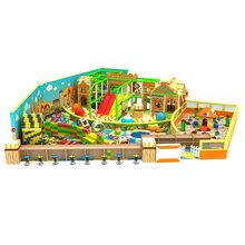 厂家直销定制设计商城超市室内多种缤纷主题淘气堡儿童游乐园设施图片