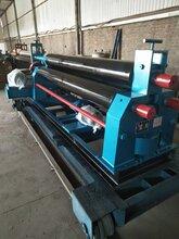 三辊卷板机山东厂家直销机械自动卷板机图片