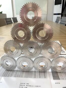 滚齿齿轮加工制定高精密小齿轮电机减数箱齿轮微型齿轮