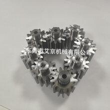 广东中小模数齿轮加工精密齿轮电机齿轮轴加工图片