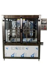 全自動洗衣液灌裝機設備直線式灌裝機伺服灌裝機廠家圖片