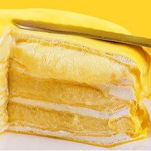 榴莲千层蛋糕图片