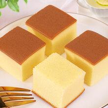 千山梅子早餐蛋糕日式长崎蛋糕网红蛋糕图片