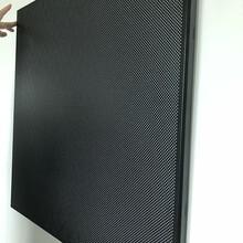 600x600铝扣板300x300黑色铝扣板吸音天花吊顶图片