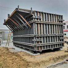 水泥房模具活動房模具工地水泥房模具圖片