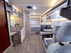 甘肅自行式C型房車改裝,歐盛中額頭房車價格