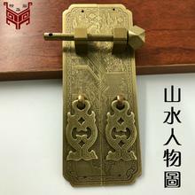 天水古铜中式仿古拉手订购图片