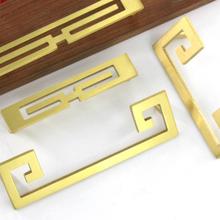 六盘水黄铜复古把手销售图片
