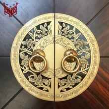 广元圆形全铜拉手供应图片