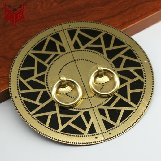 天水圆形全铜拉手供应