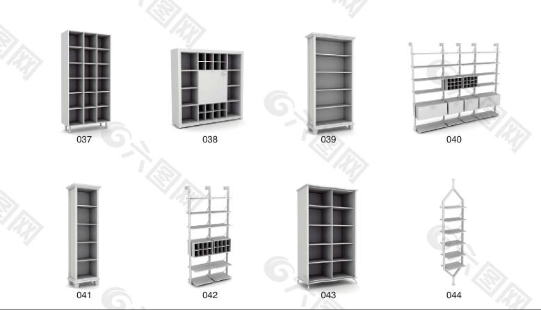 版式家具全屋定制家具衣柜