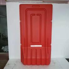 人行道防撞欄桿黃黑警示柱防撞桶水馬圍擋消防栓保護罩圖片
