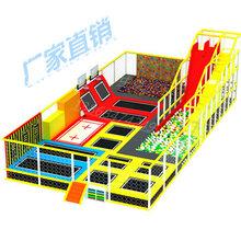室内游乐场设备儿童大小型蹦蹦床商场成人蹦床淘气堡图片