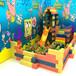 温州幼儿园室内大型积木游乐园商场儿童淘气堡滑梯组合