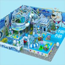 大小型淘气堡儿童乐园亲子餐厅冰雪城堡系列性能可靠图片