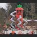 中青大型戶外滑梯不銹鋼滑梯兒童滑梯蹦床淘氣堡廠家發貨包安裝