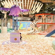 新型马卡龙系列淘气堡室内外儿童乐园定制源头厂家图片