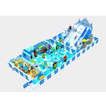 中青游乐大型商场室内海洋系列百万球池游乐设备源头厂家图片